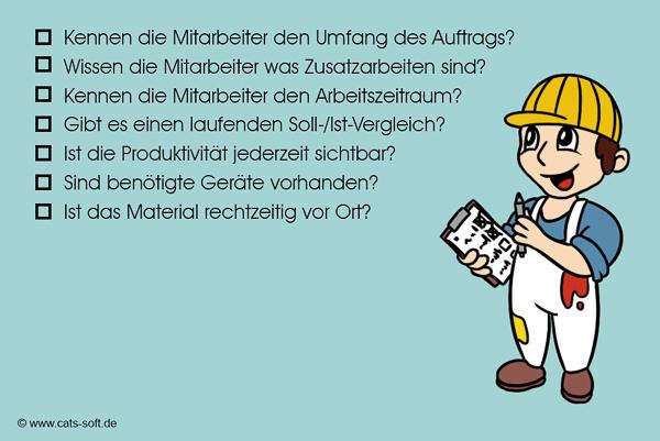 "Checkliste ""Baustelle"" im Malerbetrieb"