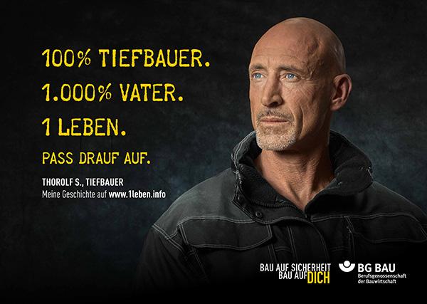 Sicherheit am Bau: Du hast nur 1 Leben - deutschlandweite Kampagne der BG BAU gestartet