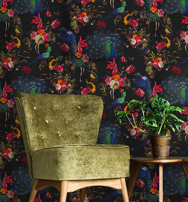 Ein opulentes Motiv mit Wow-Effekt. Perfekt um eine einzelne Wand in Szene zu setzen, Foto: Erismann & Cie GmbH