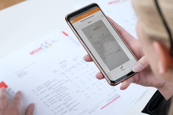 DokuScan: Die Scan-App aus dem Hause-C.A.T.S.-Soft für Maler und Stuckateure