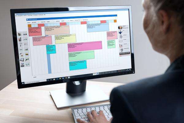Digitale Terminübersicht sorgt für optimale Arbeitsauslastung