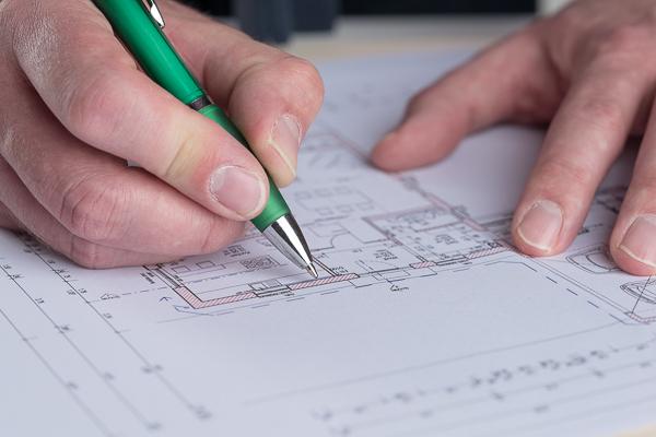 Der Neubau: Mit einem schnellen Planaufmaß auf der sicheren Seite