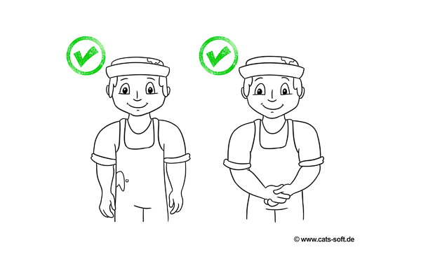 Handwerker sollten auf die richtige Körpersprache achten