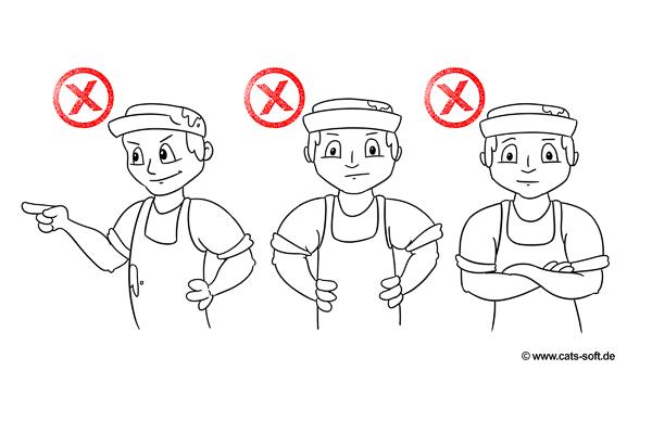 Handwerker sollten auf ihre Körpersprache achten