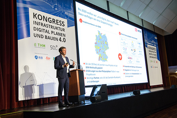 BIM-Kongress Gießen, Vortrag Prof. Dr. Rompf, DB