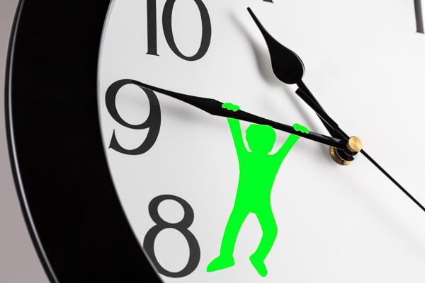 Wer Zeitlücken effizient nutzt, gewinnt freie Zeit