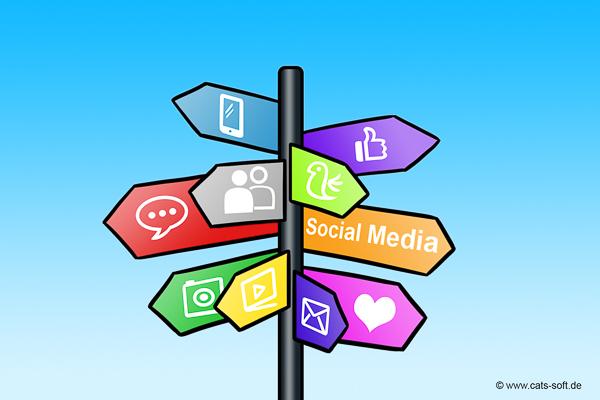 Wegweiser Socialmedia
