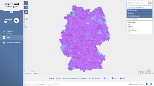 Funkloch Deutschland? Eine Karte zeigt, wo's hakt
