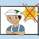 Maler-Sommer-Hitze-Sonne-Arbeitsschutz