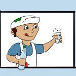 Maler-Sommer-Hitze-Trinken-Arbeitsschutz