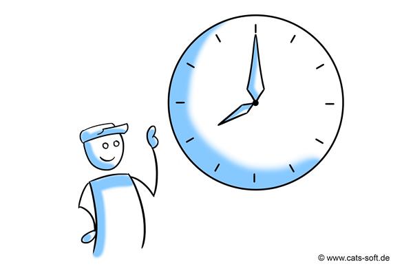 Tipp 1: Beim Kunden pünktlich erscheinen