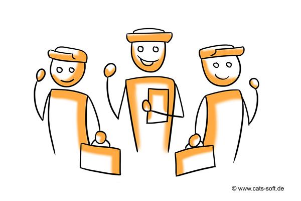 Tipp 2: Den Kunden stilvoll begrüßen