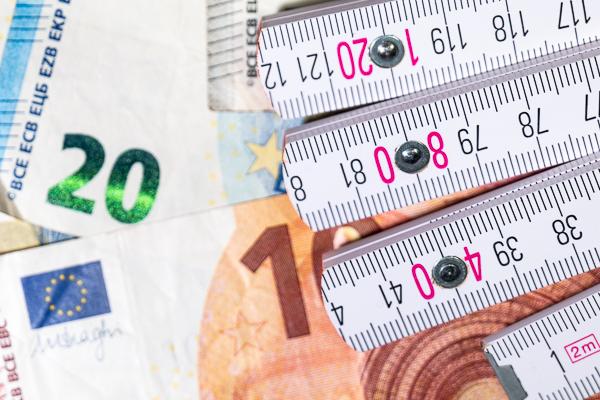 Fassadendämmung: Nie mehr zu viel Material bestellen - Geld sparen