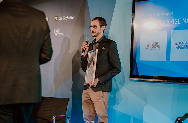 Hessischer Gründerwettbewerb: Preisträger Malerbetrieb Balzer in TOP-Form