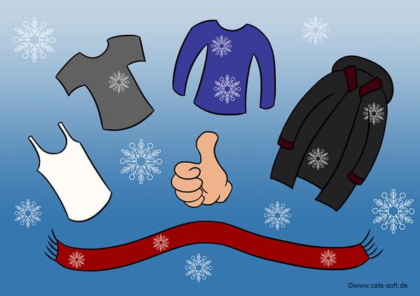 Tipp für Mitarbeiter auf der Winterbaustelle: Zweibelprinzip bei der Kleidung